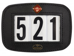 Lemieux saddle pad number holder